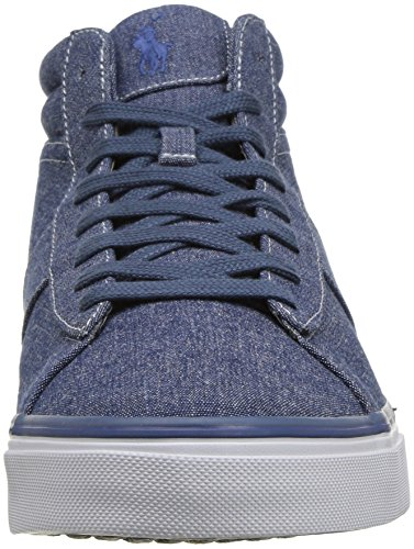 a259ded04ea4 Polo Ralph Lauren Menns Shaw Sneaker Indigo - cottagegarden.be