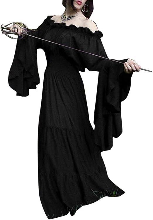 Mujer Traje Medieval Disfraz De Reina Princesa Medieval Vestido ...