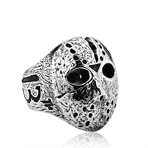 Original Jason Mask Ring Jewelry for Men Stainless Personalized Ring Black Friday Jewelry (8) -