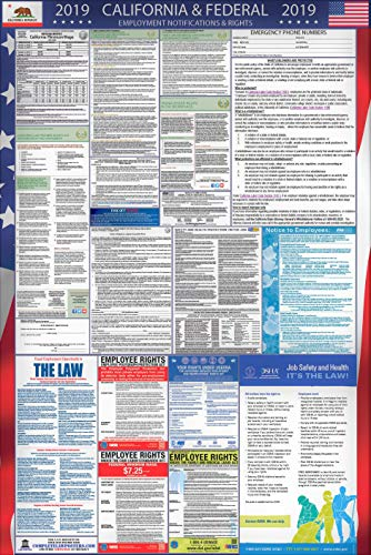 2019 California and Federal Labor Law Poster