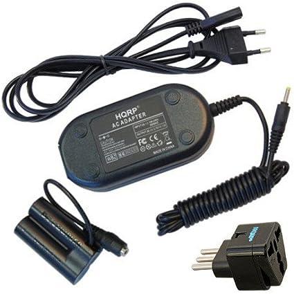 HQRP Adattatore di CA per Canon DR-DC10 ACK-800 PowerShot A1300 A1400 SX150IS SX160IS A800 A810 Fotocamera digitale