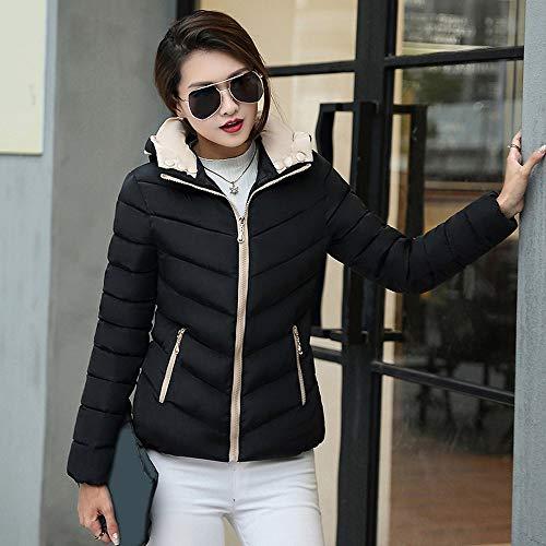 Womens Coats Winter Clearance Liraly Fashion Winter Warm Coat Thick Warm Slim Jacket Overcoat(Black,US-10 /CN-XL) by Liraly (Image #2)