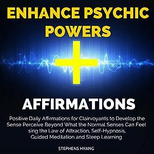 Enhance Psychic Powers Affirmations Speech