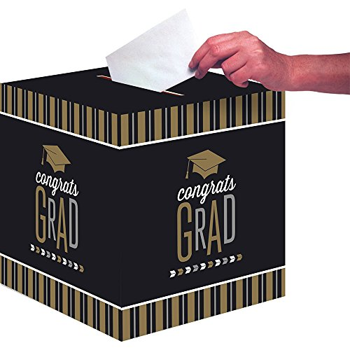 Creative Converting Congrats Grad Card Box -