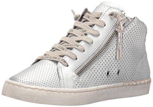 Dolce Vita Donna Zabra Fashion Sneaker Argento