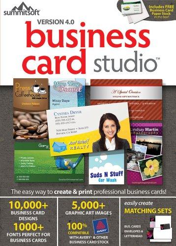 business card software - 5