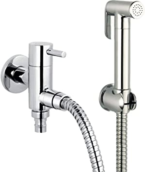Azos Wall Mounted Hand Held Bidet Diaper Sprayer Shattaf Toilet Faucet Sets Bathroom Shower Furnitures Replacement Chrome Polish Single Cold Water Fxq013 Bidet Faucets Amazon Canada