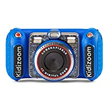 VTech KidiZoom Duo DX Digital Selfie Camera with MP3 Player, Blue, Great Gift For Kids, Toddlers, Toy for Boys and Girls, Ages 3, 4, 5, 6, 7, 8, 9