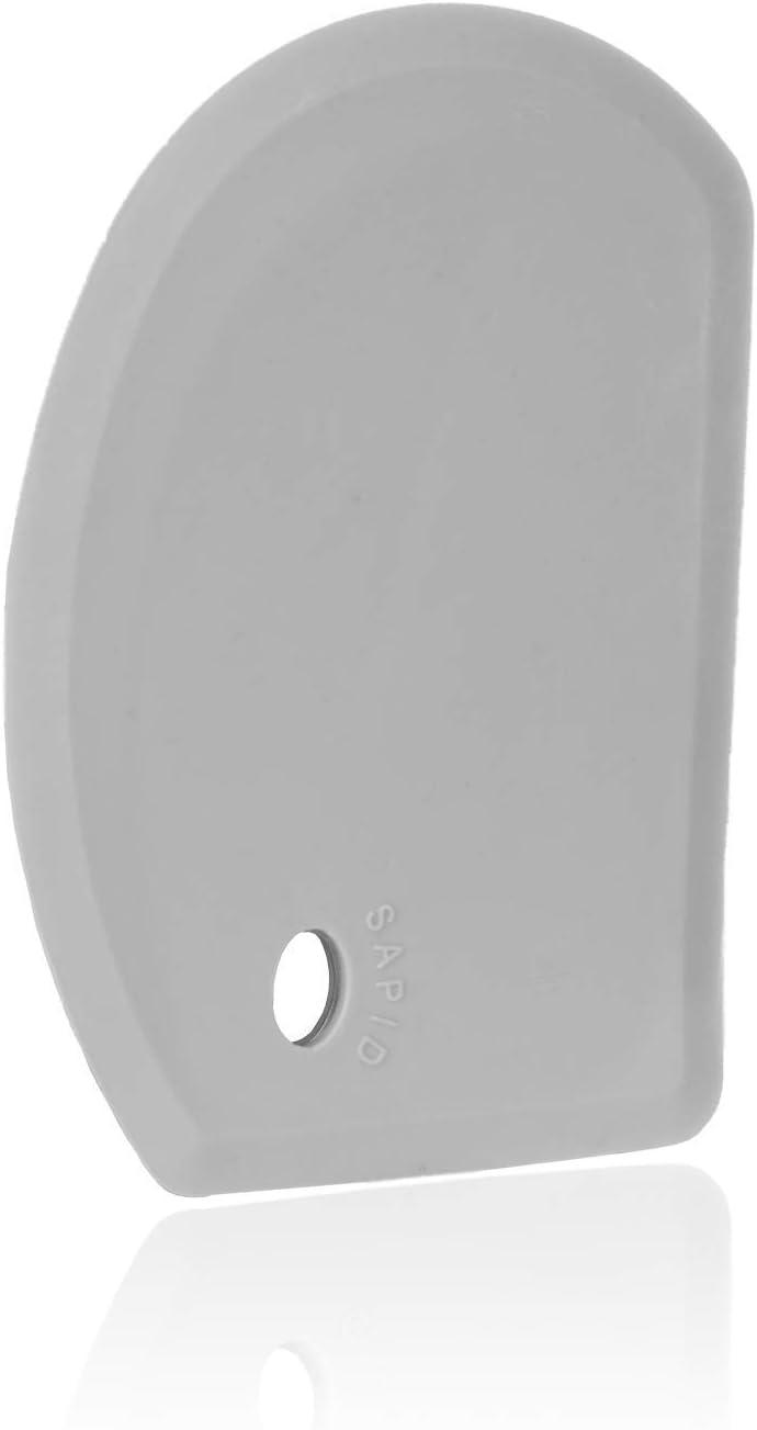 Sapid Flexible Curved Edge Silicone Bowl Scraper(5.98