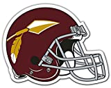 Forever Collectibles Washington Redskins NFL Throwback Logo Licensed Car/Truck Magnet Bright Colors