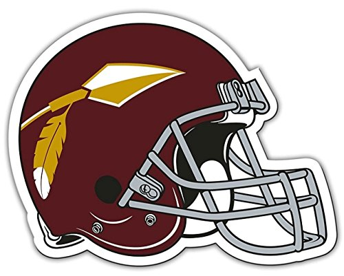 Forever Collectibles Washington Redskins NFL Throwback Logo Licensed Car/Truck Magnet Bright Colors by Forever Collectibles
