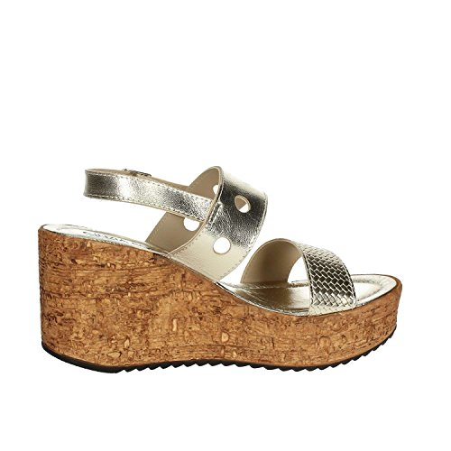 Soft Sandale 734L004 Femme Cinzia Platine IAF2932 BRqxAn0