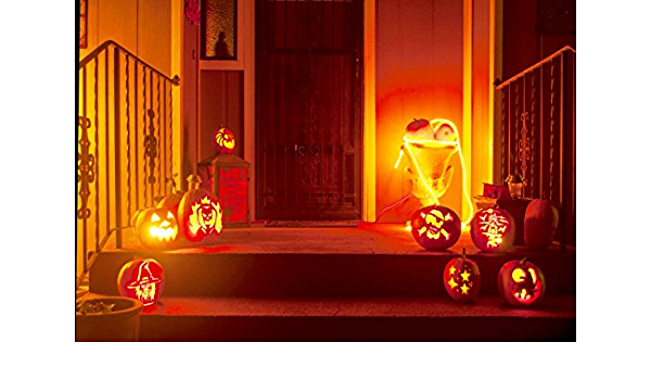 Leowefowa Spooky Night Backdrop 12x8ft Vinyl Huge Cobweb Spiders Raindrops On The Window Glass Scene Photography Background Child Baby Shoot Trick Or Treat Zombie Party Banner Wallpaper