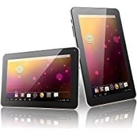 Hongfei N98 9 Inch Android 4.4 Tablet PC Quad Core 1GB+16GB 800x480 US Plug White