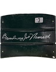 Joe Namath New York Jets Autographed Shea Stadium Seat - Fanatics Authentic Certified - NFL Autographed Miscellaneous Items