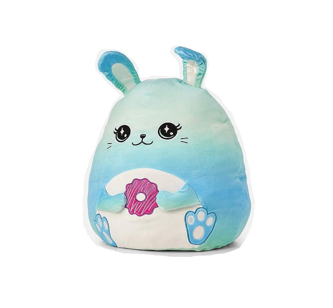 Justice Squishmallow 16'' Large Icicle Blue Vanilla Scented Blue Bunny Super Soft Plush Pillow Stuffed Animal