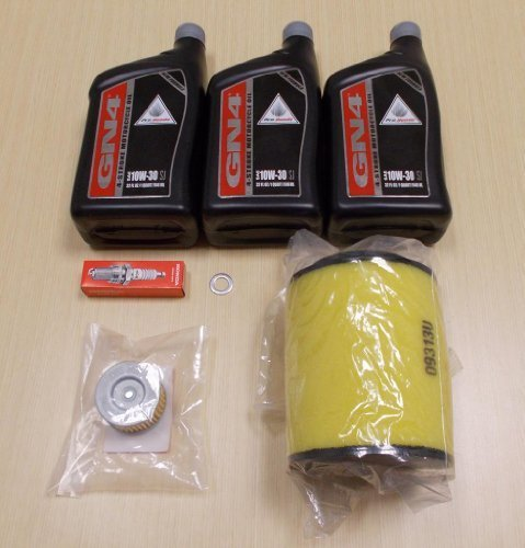 New 2007-2013 Honda TRX 420 TRX420 Rancher OE Complete Oil Service Tune-Up Kit by Honda (Image #1)