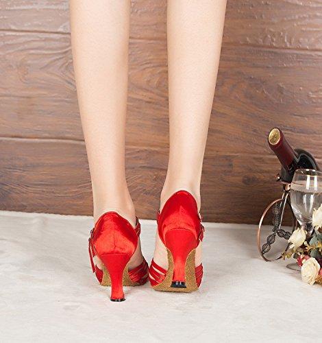 Minitoo ,  Damen Tanzschuhe , Rot - rot - Größe: 35