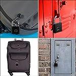Fingerprint-Lucchetto-Connessione-Bluetooth-Metallo-Impermeabile-Adatto-A-Casa-Porta-Valigia-Zaino-Palestra-Bici-Ufficio-Supporto-USB-Di-RicaricaArgento