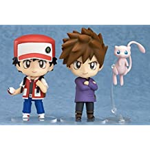 Nendoroid Pokemon Red & Green? With code (There use expiration date)