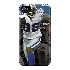 GAwilliam Case Cover For Iphone 4/4s - Retailer Packaging Dallas Cowboys Protective Case