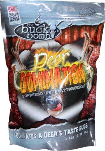 Buck Bomb Deer Domination, 3lb Bag Pellets 1 Buck