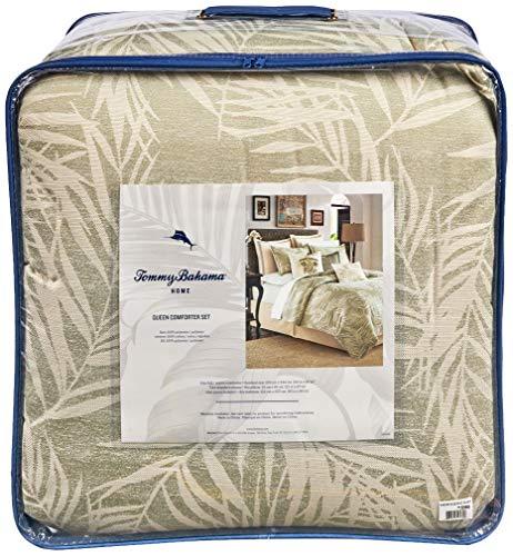 Tommy Bahama Palms Away Comforter Set, Queen, Medium Green