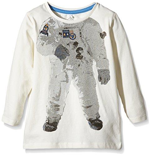 Name It Baby - Jungen Poloshirt, mit Print Gr. 80, Elfenbein - Écru (Cloud Dancer)