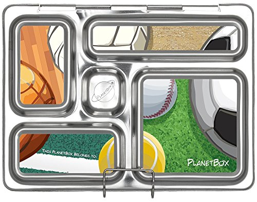 planetbox rover eco friendly stainless steel bento lunch box with 5 compartments for adults and. Black Bedroom Furniture Sets. Home Design Ideas