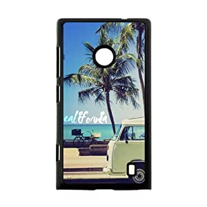 Canting_Good Palm Trees and California Dreaming Custom Case skin for Nokia Lumia 520