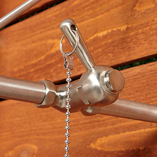 Signature Hardware 401595 Stainless Steel Outdoor Shower Trim with Single Function Shower Head and Pull Chain by Signature Hardware (Image #1)