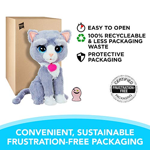 FurReal B5936AF1 Bootsie Interactive Plush Kitty Toy, Ages 4 & Up by FurReal (Image #1)
