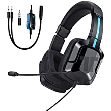 Tritton Kama Plus PS4 Xbox One PC Gaming Headset, Stereo Gamer Headphones Microphone Computer Gaming PS4 Nintendo Switch Mobile Devices