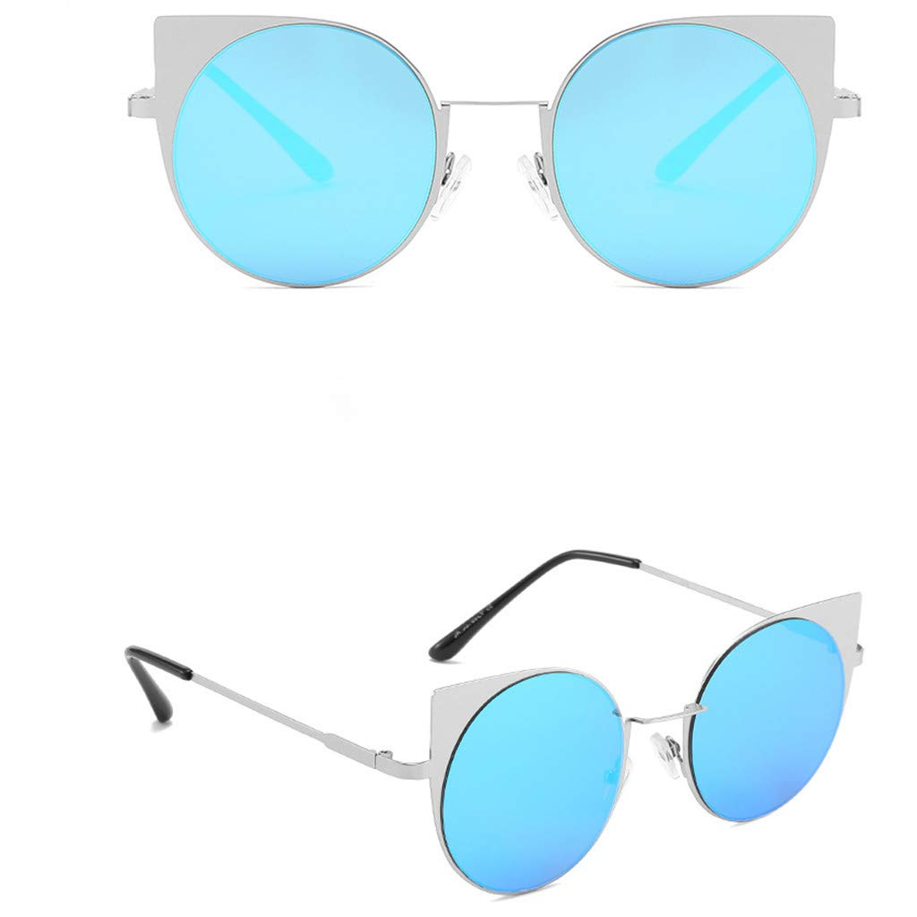 Unisex Fashion Small Frame Sunglasses Vintage Retro Irregular Shape Sun Glasses,100/% UV protection Sunglasses,YESjikil