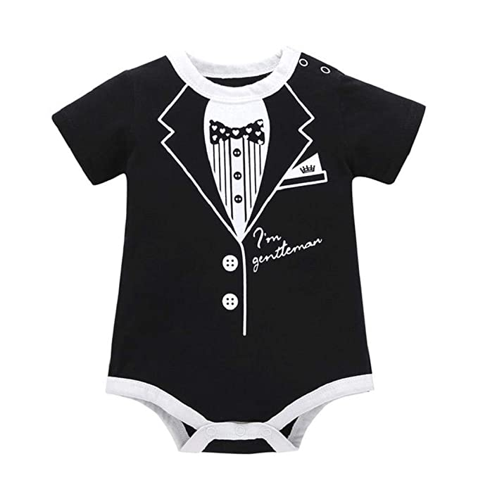 All My Friends are Dead Dinosaur Fashion Newborn Baby Short Sleeve Bodysuit Romper Infant Summer Clothing