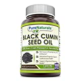Cheap Pure Naturals 100% Pure Black Cumin Seed Oil 1000 Mg, Softgels -Supports Digestive & Respiratory Health -Support Cardiovascular Health -Rich Source of Essential Fatty acids & Vitamins (100 Softgels)