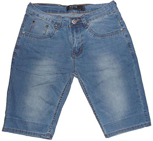 Cotone Ginocchio Corto Ragazzo Jeans Bermuda Leggero Uomo Fantasy 6nP4qP