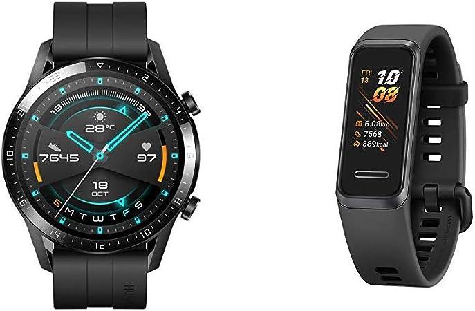 Huawei Watch Gt 2 Mit Herzfrequenz Messung Musik Elektronik