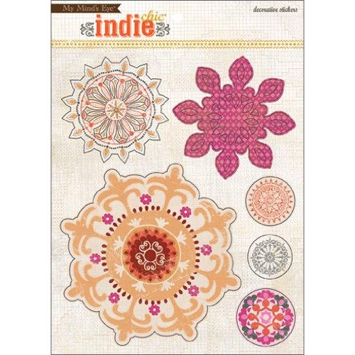 Indie Chic Saffron Decorative Stickers-Dreams