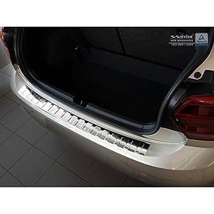 Auto Style 2/35207 - Protector de Parachoques Trasero de Acero ...