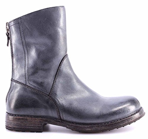 MOMA Damen Schuhe Stiefel Boots 86502-6F Ghost Platino Vintage Made in Italy Neu