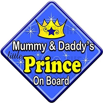 PINK CHILD CUTE DADDY/'S GIRL ON BOARD BABY CAR WINDOW SIGN NON PERSONALISED