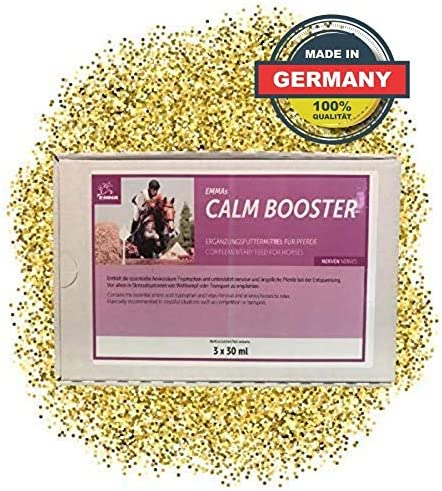 EMMA Magnesio para Caballos Booster I Alimento complementario para ...
