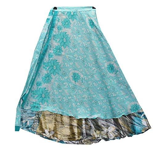 Reversible Wrap Dress - 8