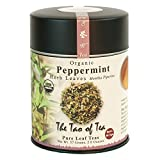 The Tao of Tea, Peppermint Herbal Tea, Loose Leaf, 2 Ounce Tin