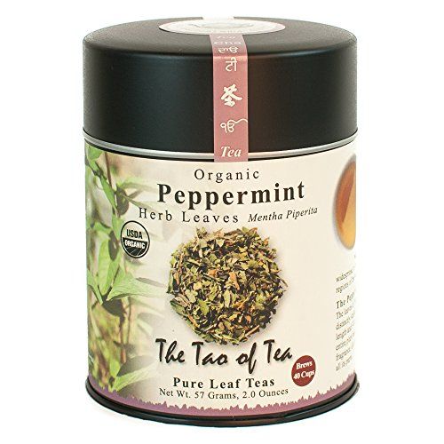 (The Tao of Tea, Peppermint Herbal Tea, Loose Leaf, 2 Ounce Tin)