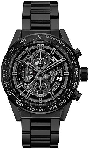 TAG-Heuer-Carrera-Matte-Black-Ceramic-Case-Bracelet-Mens-Watch-CAR2A91BH0742