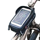 THREEMAO Bike Bag Waterproof Bike Top Tube Bag Cycling Front Frame Bag...