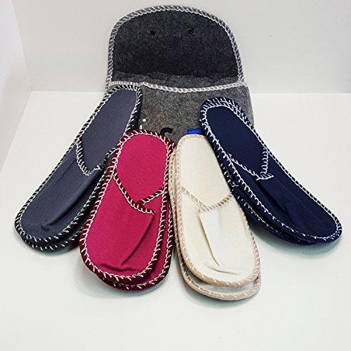 Besucher TLG Gäste Schuhe 9 4 Puschen Set Pantoffel Haus Paar Filz Hausschuhe 1wx0Ydf