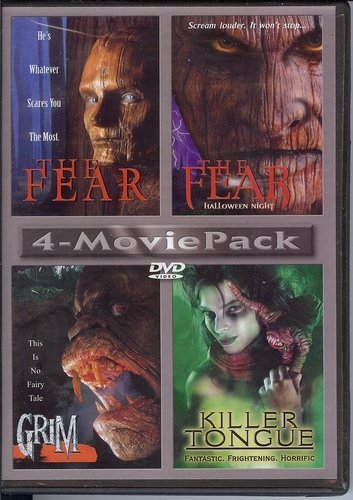 4 movie pack The fear / the fear:halloween night / grim / killer tongue -